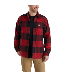 Carhartt Shirt Jac Fleece-Lined Hamilton Rugged Flex 103315