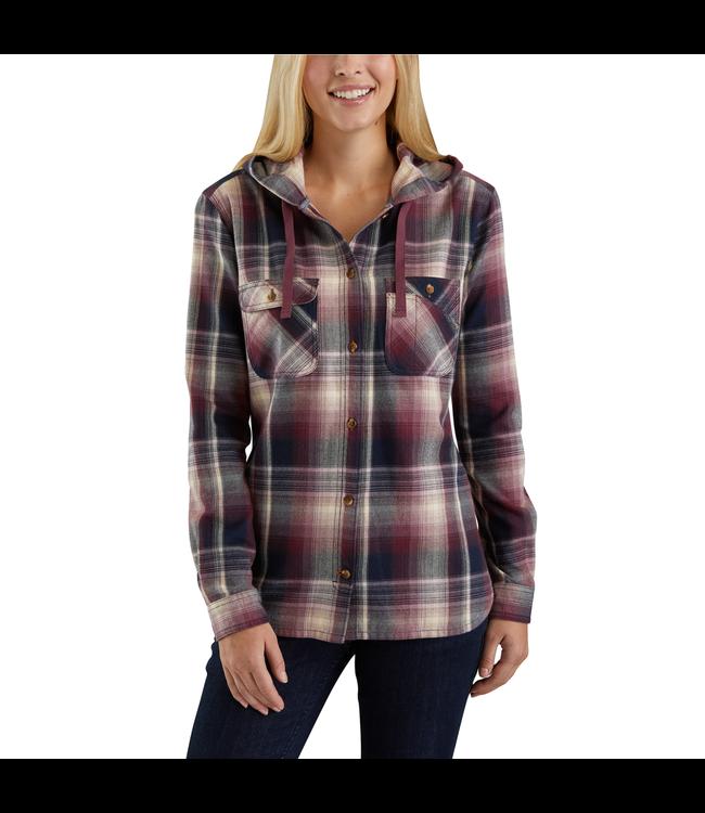 Carhartt Shirt Flannel Hooded Beartooth 103235