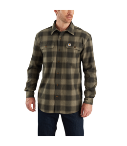 Carhartt Shirt Long Sleeve Flannel Hubbard 103822