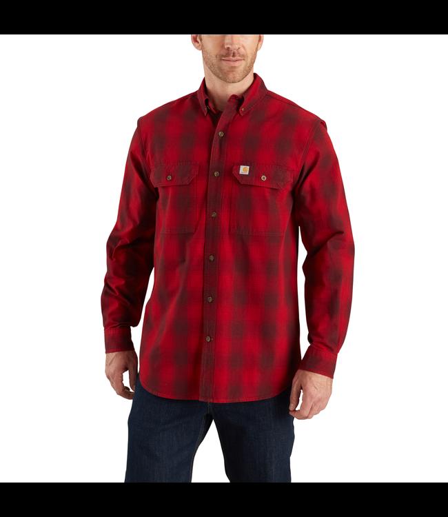 Carhartt Shirt Long Sleeve Plaid Fort 104142