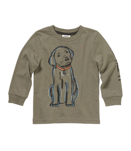 Carhartt Tee Hunting Puppy Long Sleeve CA6012
