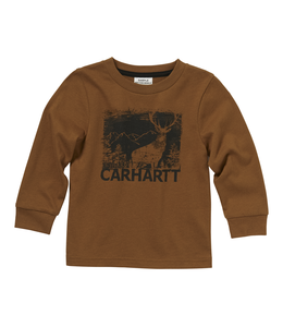 Carhartt Tee Boys Deer Silhouette Long Sleeve CA6003