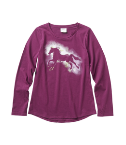 Carhartt Tee Girls Watercolor Horse CA9706