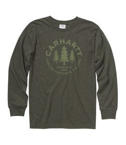 Carhartt Tee Boys Explore And Preserve CA6037