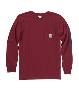 Carhartt Tee Boys Pocket Logo CA6024