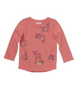 Carhartt Tee Girls Forest Friends CA9716