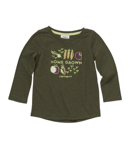Carhartt Tee Girls Home Grown Veggies CA9723