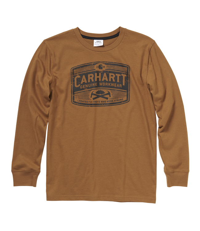 Carhartt Tee Boys Genuine Workwear CA6026