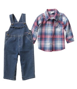 Carhartt Set Denim Overall Girls CG9714