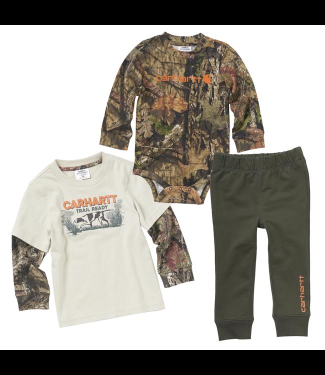 Carhartt Gift Set Pant Camo 3-Piece Boys CG8722