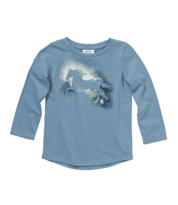 Carhartt Tee Girls Watercolor Horse CA9718