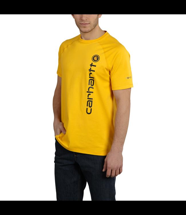 Carhartt T-Shirt Short-Sleeve Graphic Delmont Force Cotton 101121
