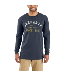 Carhartt T-Shirt Long-Sleeve Graphic Workwear 103839