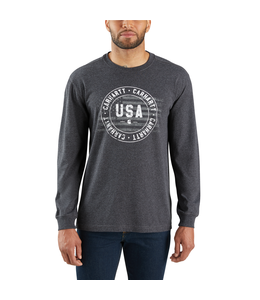 Carhartt T-Shirt Long-Sleeve Carhartt USA Graphic Lubbock 103847
