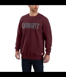 Carhartt Sweatshirt Crewneck Block Logo 103853