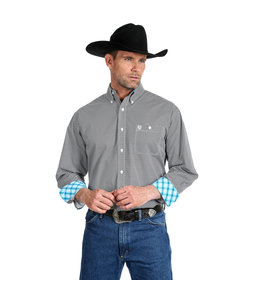 Wrangler Shirt Long Sleeve Relaxed Fit George Strait MGSX685