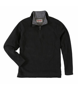 Wrangler Pullover Fleece Quarter Zip Wrangler Rugged Wear RWFV3BK