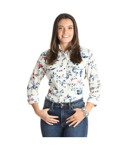 Wrangler Top Fashion Western LW3116M