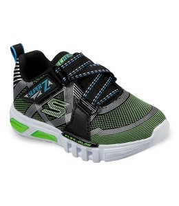 Skechers S Lights: Flex-Glow - Parrox 90543N BKLM