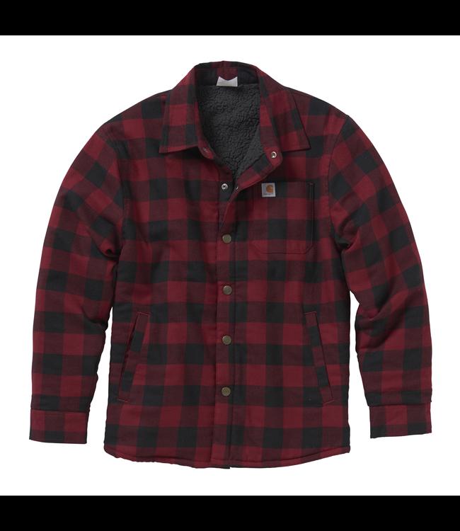Carhartt Shirt Jac Lined Flannel CP8537