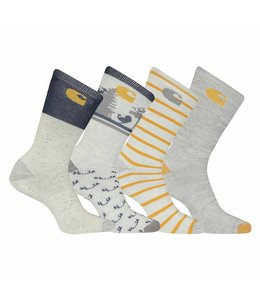 Carhartt Crew Sock Thermal Boys 4-Pack BA0015-4
