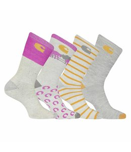 Carhartt Crew Socks Thermal Girls 4-Pack GA0015-4