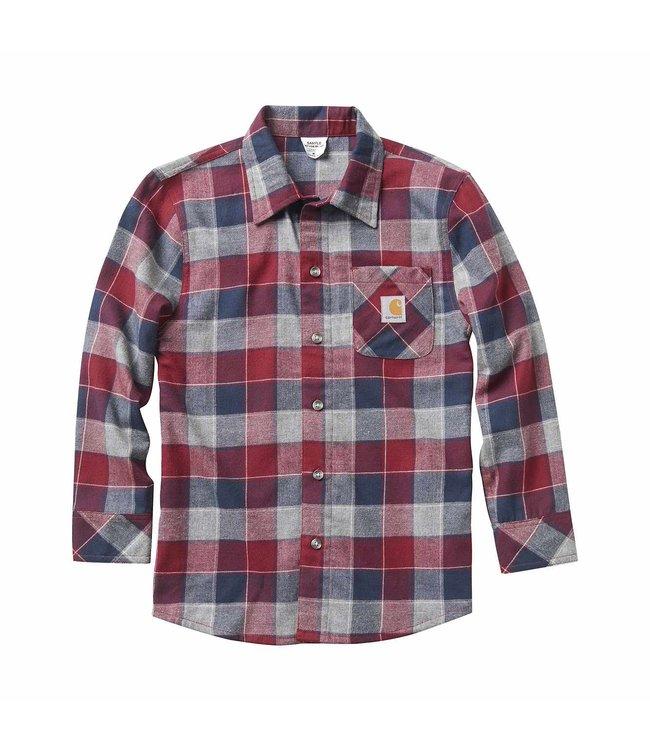 Carhartt Shirt Plaid Long Sleeve CE8172