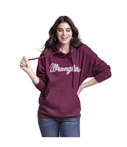 Wrangler Hoodie Rope Logo Women's Essential LWK898R