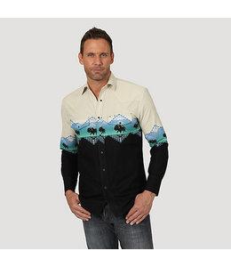 Wrangler Shirt Long Sleeve Buffalo Checotah MC1255M
