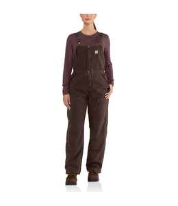 Carhartt Women's Weathered Duck Wildwood Bib Overalls 102743