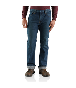 Carhartt Jean Straight Relaxed Knit-Lined Rugged Flex 103895