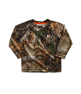 Carhartt Kids Camo Force Pocket Tee CA8484