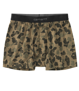 "Carhartt Boxer Brief Basic Printed 2-Pack 5"" MBB124P"