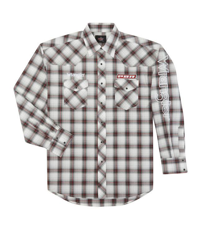 Wrangler Shirt Logo PBR Wrangler MHS236M