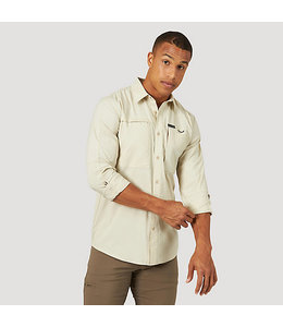Wrangler Shirt Utility Hike To Fish All Terrain Gear By Wrangler NSB94KH