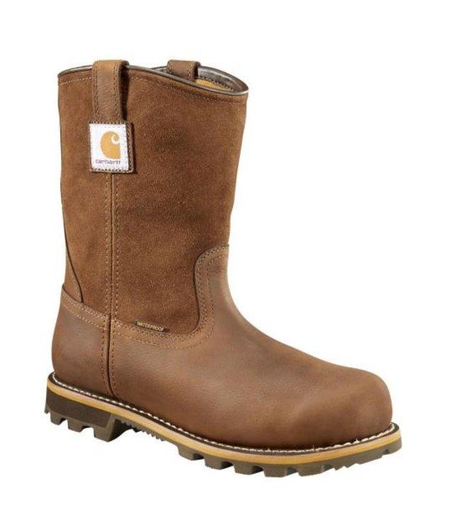 "Carhartt Wellington Boot 10"" Soft Toe Waterproof Pull On CMP1053"