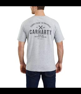 Carhartt T-Shirt Pocket Short Sleeve Maddock Outlast Graphic 103562