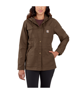Carhartt Coat Canvas Hooded Rugged Flex 104291
