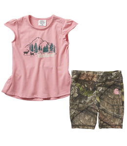 Carhartt Camo Short Set Infant Girl's CG9727