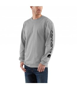 Carhartt Men's Workwear Long-Sleeve Graphic Logo T-Shirt K231