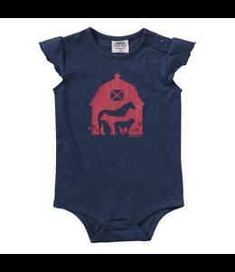 Carhartt Heather Flutter Sleeve Bodyshirt Girl's Infant CA9767