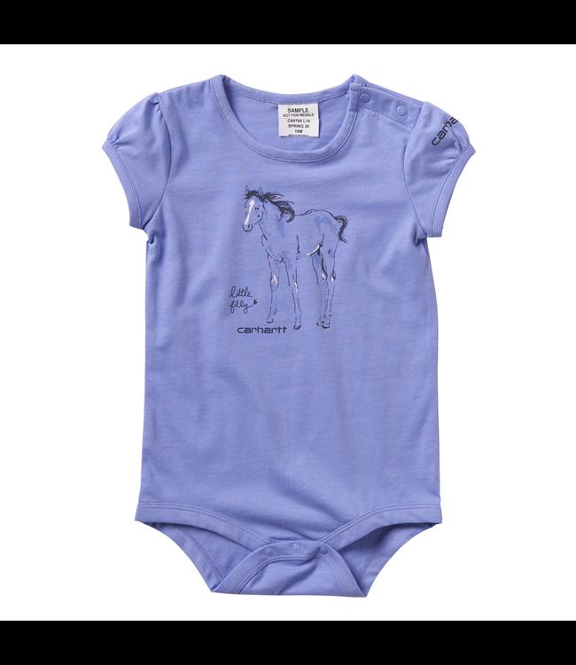 Carhartt Short Sleeve Bodyshirt Graphic Girl's Infant CA9768