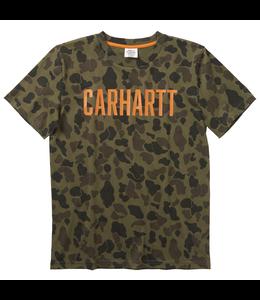 Carhartt Camo Tee Boys CA6078