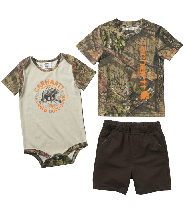 Carhartt 3-Piece Camo Short Gift Set Boys Infant CG8732