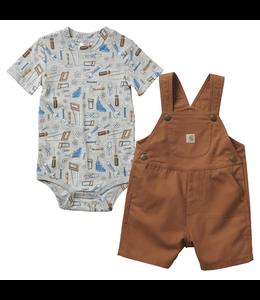 Carhartt Canvas Shortall Set Boy's Infant CG8729