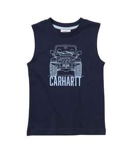 Carhartt Sleeveless Graphic Tee Boy's Toddler CA6072
