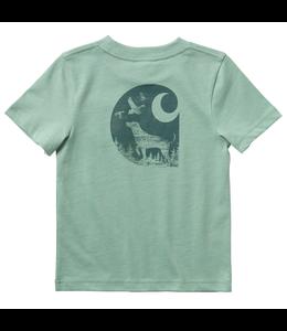 Carhartt Short Sleeve Pocket Graphic Tee Boy's Toddler CA6074