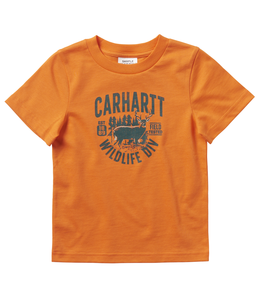 Carhartt Short Sleeve Graphic Tee Boy's Toddler CA6068