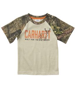 Carhartt Built for the Outdoors Tee Boy's Toddler CA6071