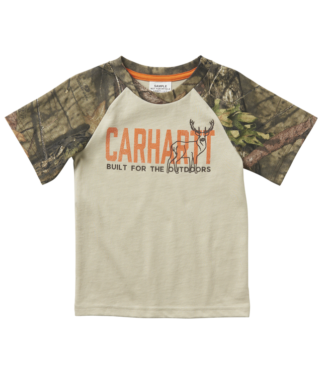 Carhartt Built for the Outdoors Tee Boy's Toddler CA6071